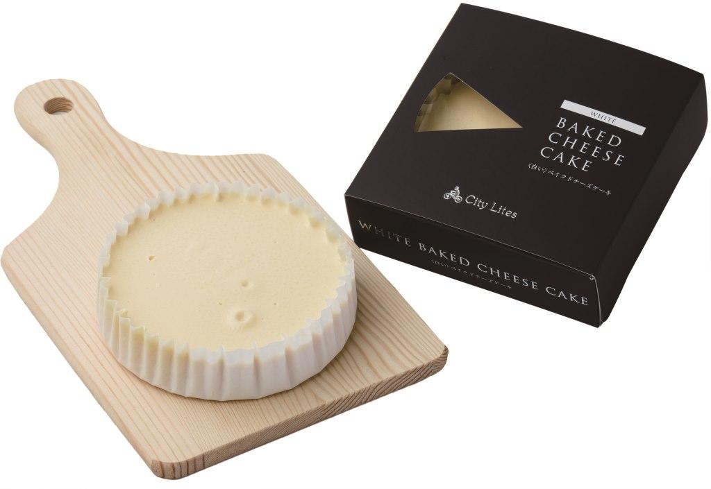 奨励賞「白いベークドチーズケーキ」