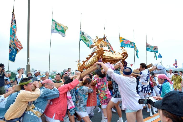 羽田まつり(羽田神社夏季例大祭)
