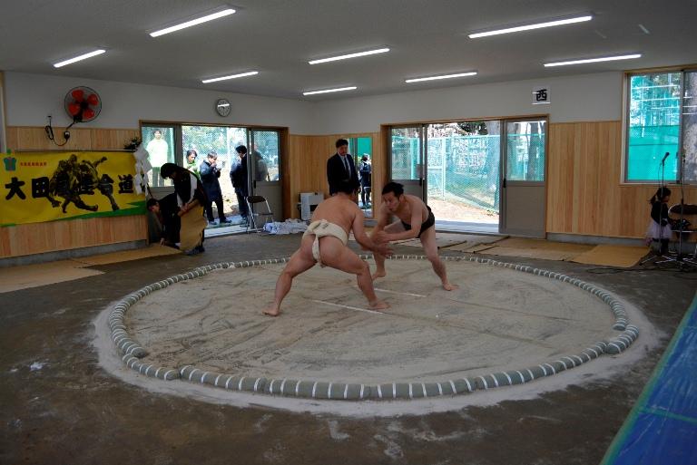 大森東水辺スポーツ広場完成記念式典