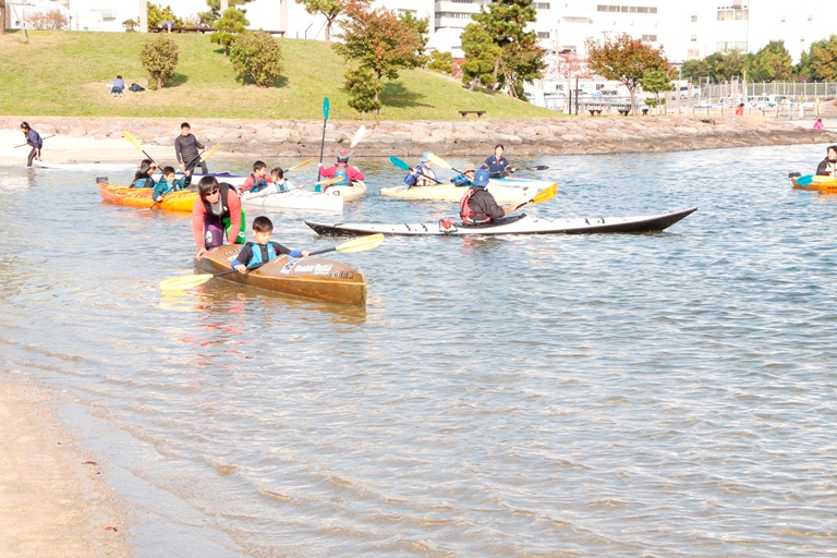 ふるさとの浜辺公園‗カヌー