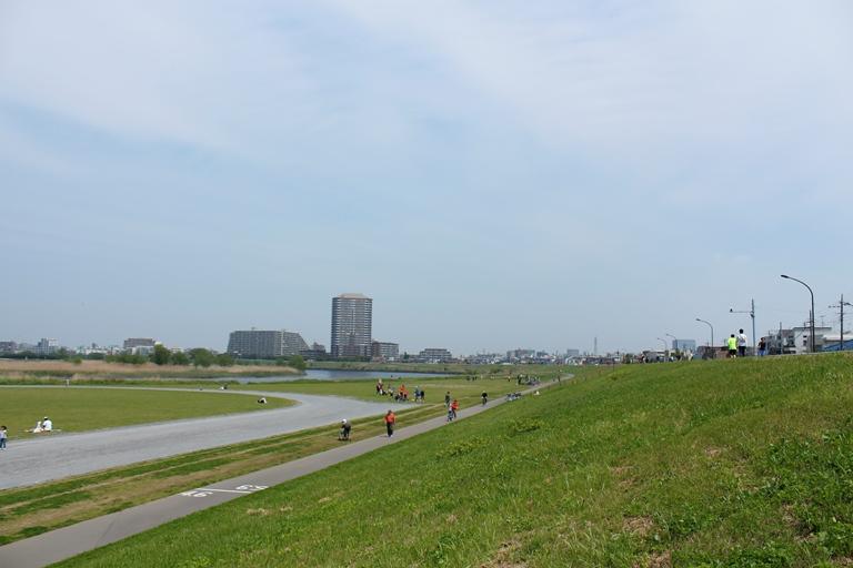 区民広場(多摩川緑地)