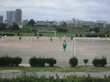 多摩川緑地サッカー場