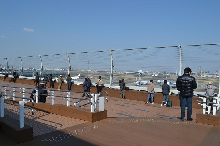 国内線第2旅客ターミナル展望デッキ