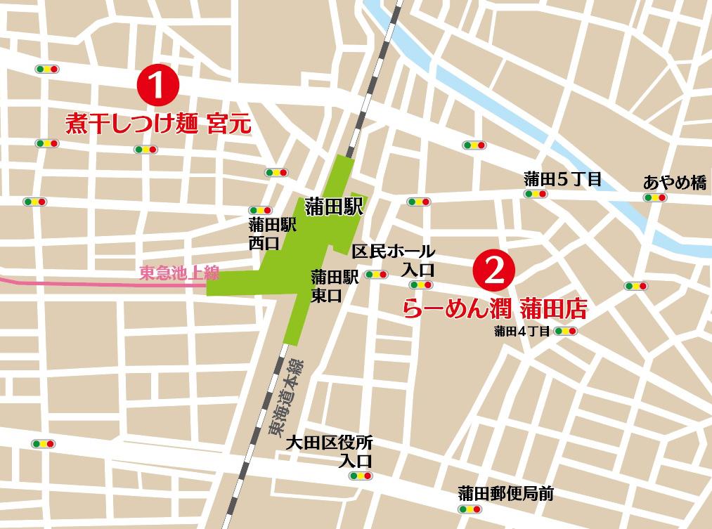 大田区map